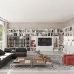 Kettnacker Wohnwand Bauhaus Ecklösung Beistelltisch