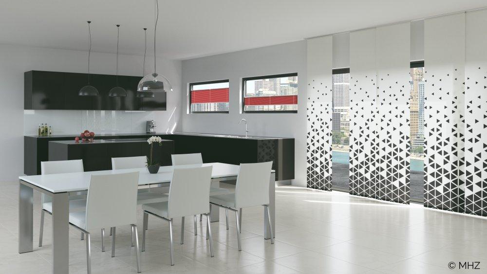 Flächenvorhang modern