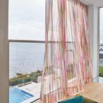 Moderne Vorhänge, Muster, Farbe