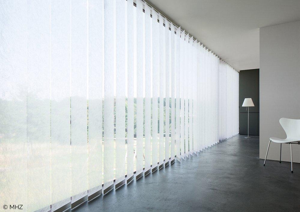 Vertikaljalousie halbtransparent Sichtschutz