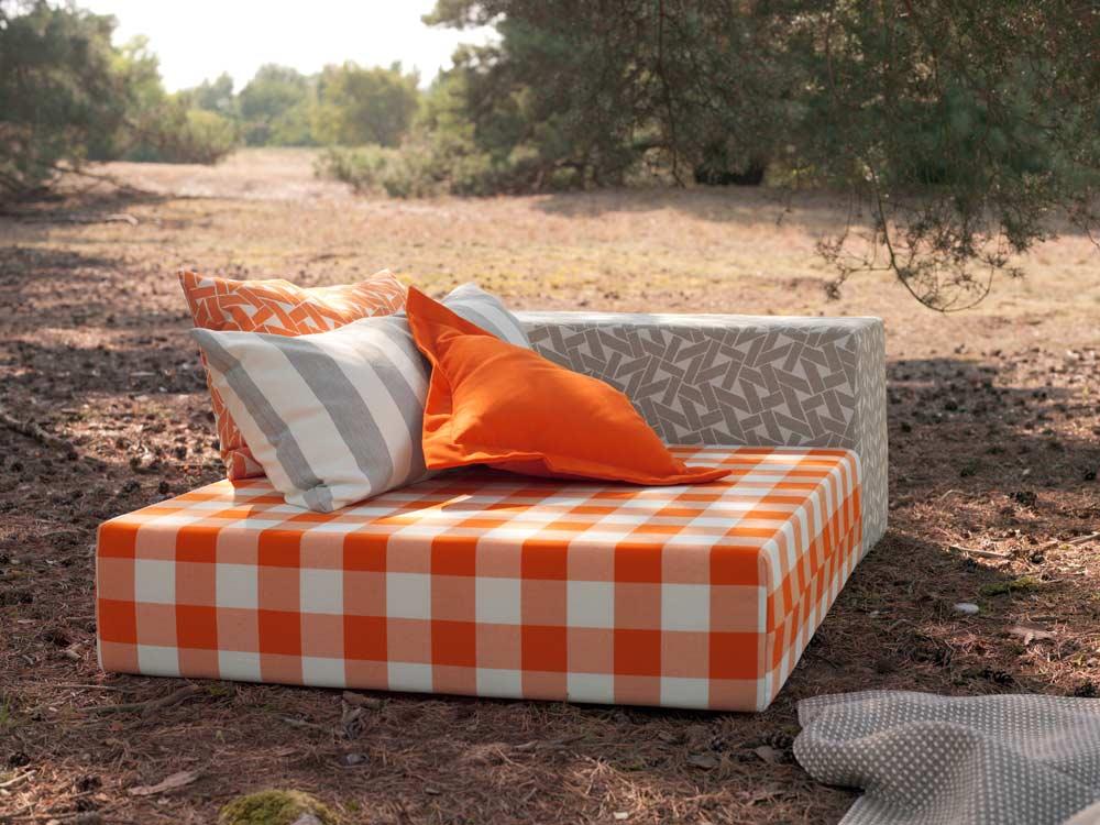 Textilien outdoor, wetterfeste Polsterbezüge